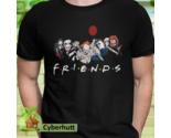 Halloween Shirt Monsters Of Modern Horror Friends Unisex T-shirt Chucky Jason