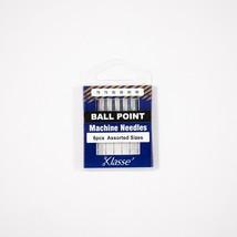 Klasse Ballpoint Needle Asst 70/10 (x2), 80/12 (x2), 90/14 (x2), Bundle of 5 - $9.89