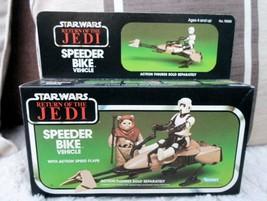 STAR WARS Speeder bike Return Jedi figure 1980 Kenner palitoy Vintage NE... - $217.73