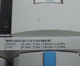 FESTO MS9-EM-G-S-VS , MS9-LWS-G-U-V , MS9-LFR-G-D7-CUV-AG-BAR-AS , MS9-FRM-G-VS image 6