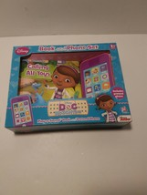 Doc McStuffins Disney Junior Book And Phone Set Play A Sound Pi Kids Pre... - $22.76