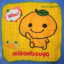 Koro Koro San-X Character Face Towel Wash Cloth Mikan Bouya  - $19.99
