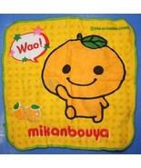 Koro Koro San-X Character Face Towel Wash Cloth Mikan Bouya  - $19.99