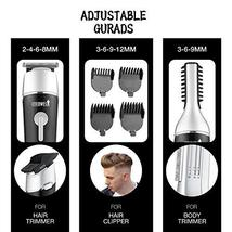 CEENWES Updated Version 5 in 1 Waterproof Man's Grooming Kit Hair Clippers Profe image 4