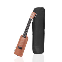 "23"" Ukulele Kit Solid Wood Okoume Electric Ukulele Bottle Shape with Guitar - $175.99"