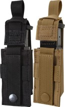Military Single 9 MM Pistol Mag MOLLE Pouch - $15.99