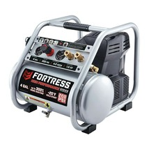 Fortress 4 Gallon Air Compressor 200 PSI OIL FREE Compact Portable Jobsi... - $264.98