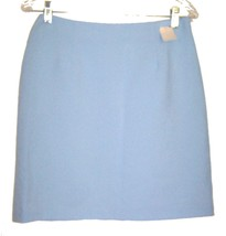 Light Blue Business Suit Skirt 100% Polyester Skirt NWT Sz 9/10 - $23.74