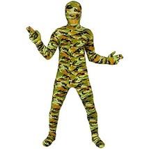 Commando Kids Morphsuit Costume - size Small 3'-3'5 (91cm-104 cm) - $25.62