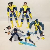 Marvel Legends Wolverine & Forge Interchangable Parts Action Figures Has... - $29.99