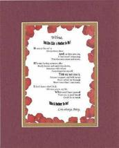 Personalized Poem for Mothers - [XXXX,] You Are Like a Mother to Me Poem on 11 x - $22.72