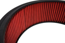 """HIGH FLOW WASHABLE & REUSABLE ROUND AIR FILTER ELEMENT REPLACEMENT 14"""" X 5"""" RED image 7"""