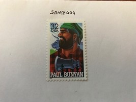 United States Folk Heroes Paul Bunyan mnh 1996     stamps - $1.20