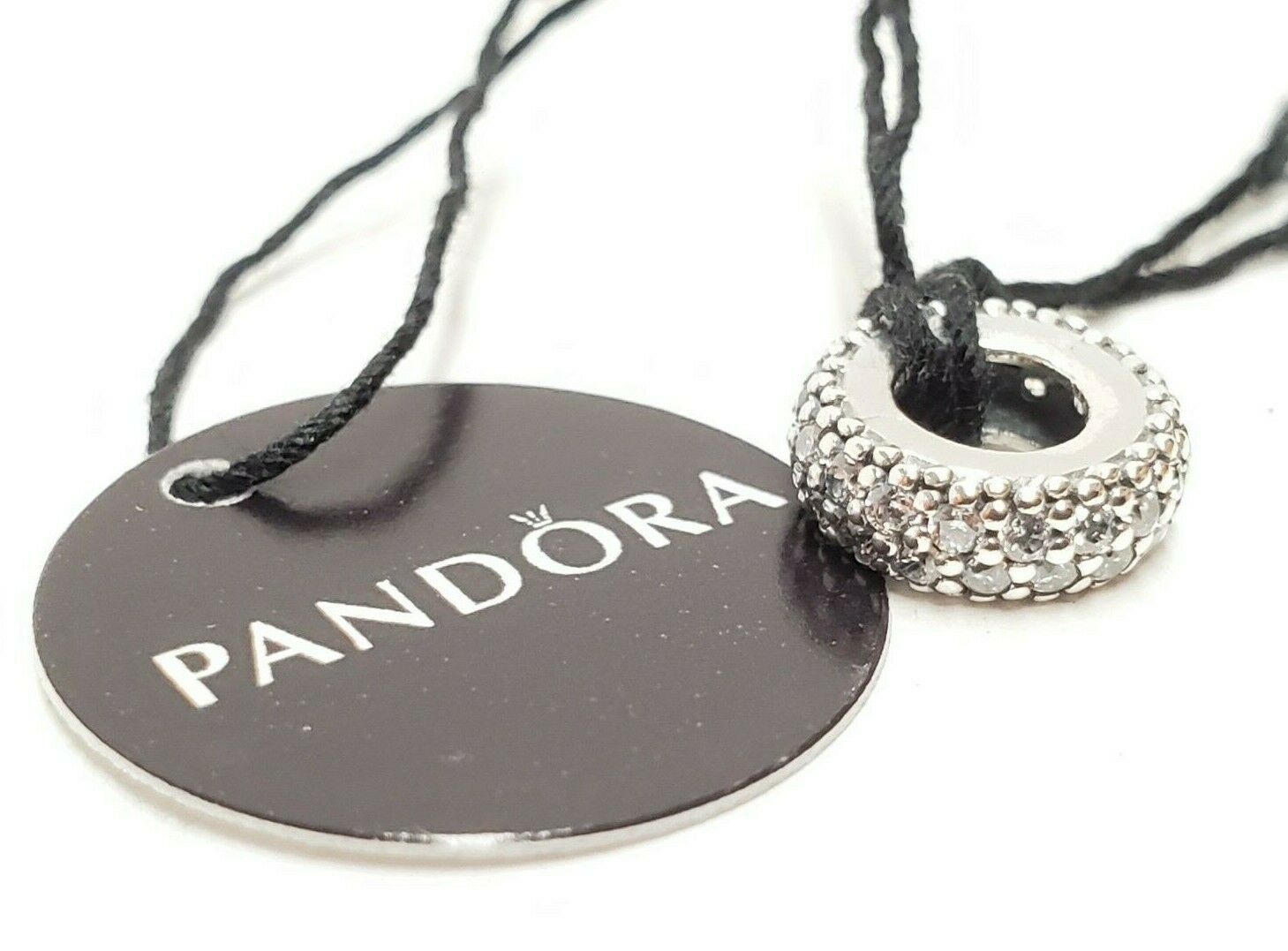 Authentic Pandora Silver 925 Inspiration Within Spacer Charm  791359CZ image 4