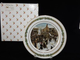Department 56 Christmas Classic Collector Plate ~ No. III Shadows of Things - $28.49