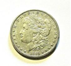 1885 P MORGAN SILVER DOLLAR  AWESOME   (AU)  MS++ #200198 - $39.60