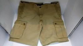 American Eagle Longer At The Knee Ne(x)t Flex Shorts Men's Size 32 Khaki NWT - $18.04