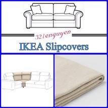 IKEA LIDHULT Slipcover Cover for Corner section Gassebol light beige 504.055.93 - $108.88