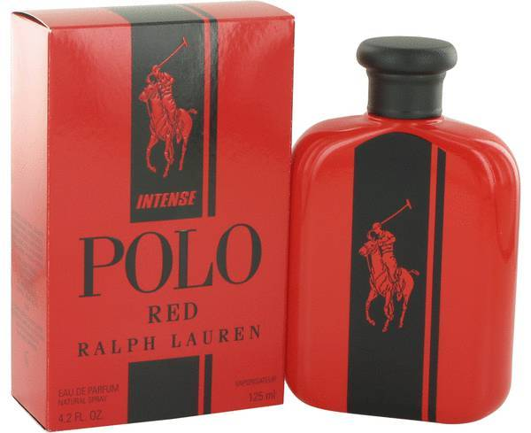 Ralph lauren polo red intense 4.2 oz eau de parfum