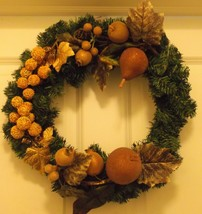 3/4 style Fruited Wreath - $25.00