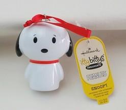Hallmark Itty Bittys Ornaments Peanuts Snoopy - $12.82