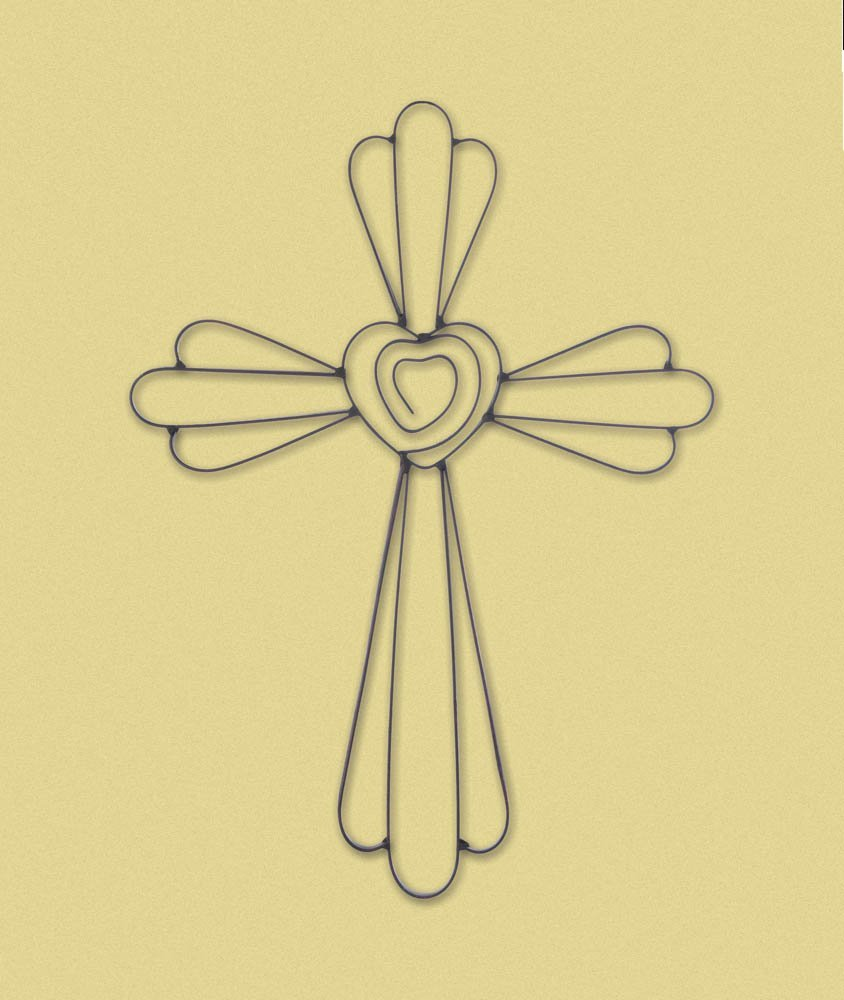 Outstanding Wall Art Cross Embellishment - The Wall Art Decorations ...