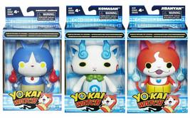 YO-KAI Mood Reveal Action Figures YO-KAI Watch Komasan, Jibanyan, Robonyan - $24.74