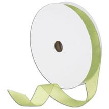 """7/8"""" Plain Sheer Organza Nylon Ribbon 25 Yards - Moss / Sage Green - $3.47"""
