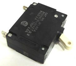 LOT OF 5 NIB HEINEMANN 2.5 AMP JA1-A3-A  Circuit Breaker 250VAC 50/60HZ T.D.3 image 2