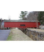 Uhlerstown Covered Bridge 13 x 19 unmatted Photograph - $35.00