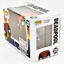 Funko Pop! Marvel Pride 2021 Rainbow Deadpool #320 Vinyl Figure image 2