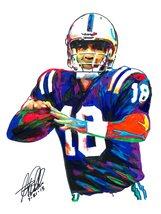 "Peyton Manning, Indianapolis Colts, Quarterback, Football, 18""x24"" Art P... - $19.99"