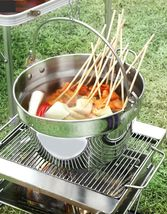 Kichenart Stainless Steel Induction Jam Pot Bucket Multipot Basket 9L (Lid) image 5