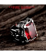 FIRE DJINN  VOODOO RING EXTREME WEALTH  HUGE SUCCESS  BURN OTHERS WITH DE - $59.00