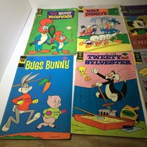 8 Vntg Gold Key,Whitman Comics, Woody Woodpecker, Andy Panda, Woodsy Owl... - $12.87