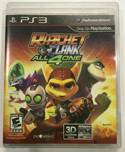 RATCHET & CLANK All 4 One Sony Playstation 3 PS3 Complete in Box with Manual - $9.49