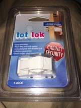 Safety 1st Magnetic Tot Lok One Complete Lock New in Packaging Cabinet Security - $7.43