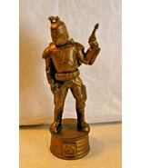 "LFL Star Wars chess piece Plastic Gold Boba Fett 10 cm / 4"" IN 2002  - $11.87"