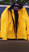 Vintage Yellow POLO Sport Jacket - mens unisex XL - never worn Ralph Lauren - $195.00