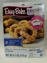 Easy-Bake Ultimate Oven Party Pretzel Dippers Refill Mix 1 Pack New Hasbro  - $9.99