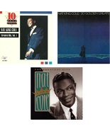 Lot of 3 CDs Nat King Cole - No Cases - $1.99