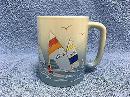 VINTAGE OTAGIRI Power Sailing Race Small Coffee Cup Japan VINTAGE - $12.19