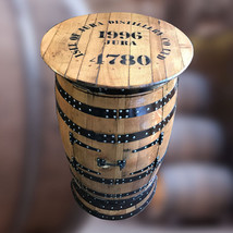 Isle of Jura Branded Natural Wooden Barrel Drinks Cabinet | Pub Table - $398.48+