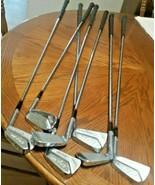 H-B Bobby Nichols Signature PGA Stainless Golf Club Irons Set RH 7-Clubs - $54.44
