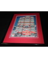 1984 Budweiser Beer US Olympics Framed 11x14 ORIGINAL Vintage Advertisem... - $32.36