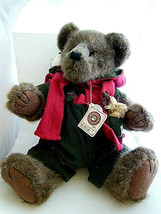 "Boyd's Bear 17"" Redford T Woodsberg + Moose & Owl TJ's Best Dressed Mint... - $33.40"