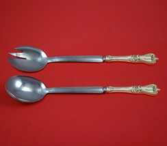 """Old Colonial by Towle Sterling Silver Salad Serving Set Modern Custom 10 1/2""""  - $149.00"""