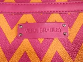 Vera Bradley Slim Hipster Crossbody Bag Ziggy Zags Ziptop Closure Front Pocket - $23.35
