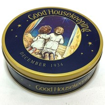 Vintage GOOD HOUSEKEEPING Tin Container Canister Original Cover 1991 Oli... - $9.69