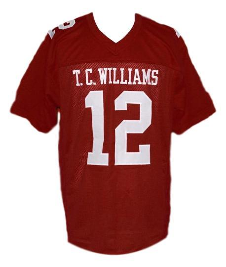 Sunshine bass 12 remember the titans movie football jersey maroon  1